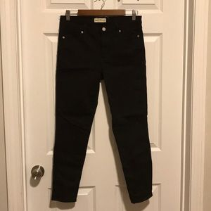 Gap true skinny black jeans, 30R